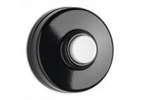Przycisk dzwonka - natynkowy biały przycisk