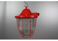 Lampa restaurowana C-100 Czerwona