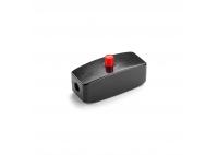 Włącznik naprzewodowy bakelitowy - czerwień