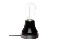 Lumica Lamp: Black & Steel