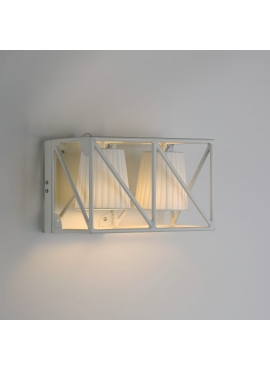 Multilamp White Sconce