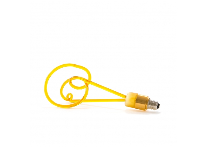 Twist Lightbulb - Yellow