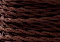 Kabel Twist Brązowy