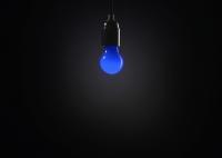 Żarówka Circus - niebieska