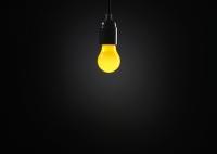 Żarówka Circus - żółta