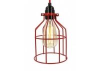 Lampa z klatką czerwoną B