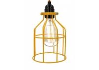 Lampa z klatką pomarańczową