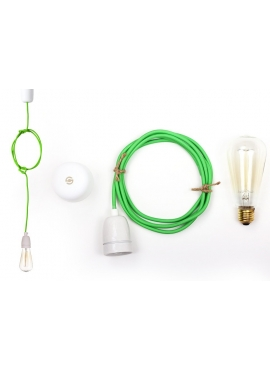 Lampa ByLight kabel zielony