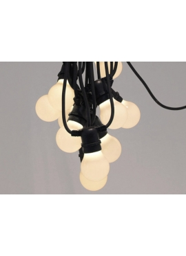 Bellavista Outdoor Festoon Lights Black