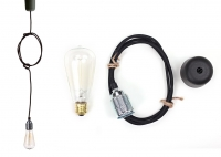 Lampa ByLight kabel czarny