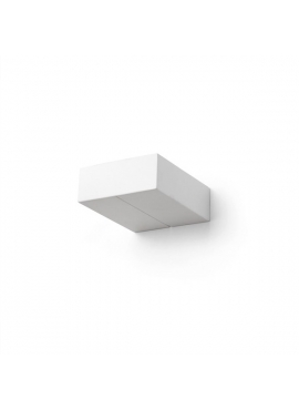 Square Ceramic White Wall Lamp