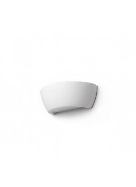 Kinkiet Ceramiczny Sfera ze Szklanym Spodem