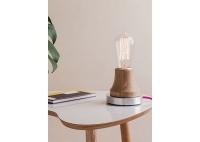 Lumica Lamp: Wood and Aluminium
