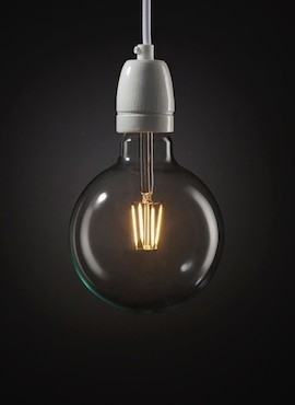 Żarówka Dekoracyjna Sfera Big LED 6W
