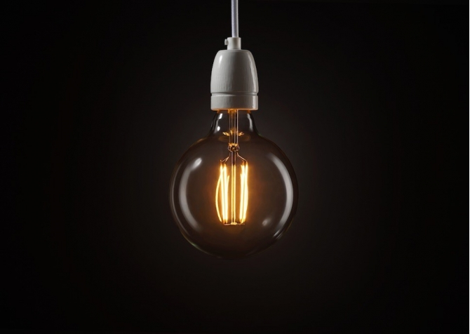 Żarówka Dekoracyjna Sfera Big LED 4.5W