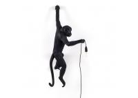 Monkey Wall Lamp Black