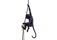 Monkey Lamp Black - hanging