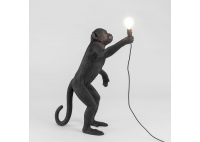 Monkey Lamp Black - stojąca
