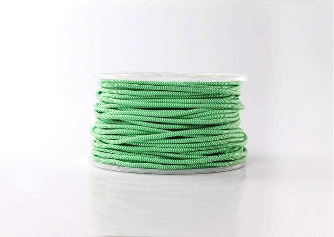 Kabel biało zielony
