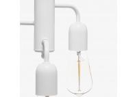 Lampa Funk Biała
