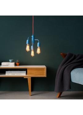 Lampa Funk Pastel Blue