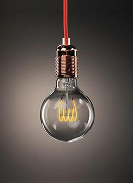 Żarówka Dekoracyjna Sfera Midi LED TWIST