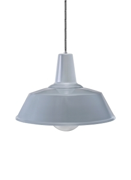 Grey Blues Loft Lamp