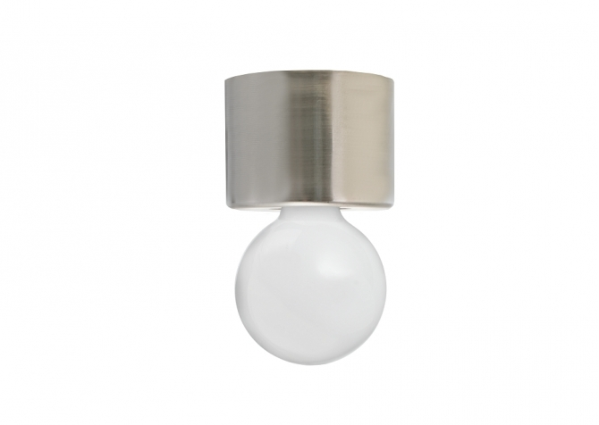 Wall Loft Lamp T25 Raw Steel