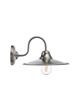 Wall Loft Lamp T53 Raw Steel