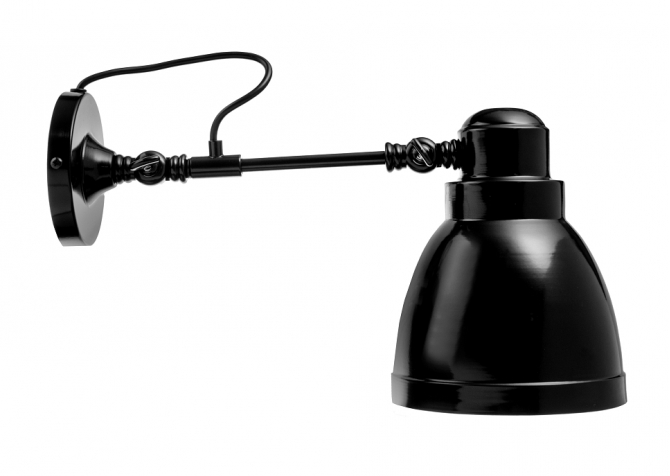 Wall Loft Lamp T57 Black Lamp Shop Bylight Pl