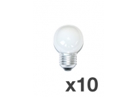 Set of 10 lightbulbs for festoon lights