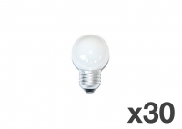 Set of 30 lightbulbs for festoon lights