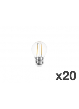 Set of 20 lightbulbs for festoon lights