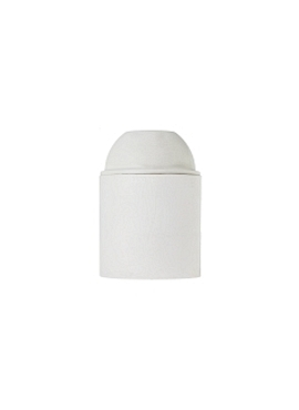 White Loft Lamp Holder