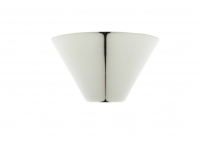 Cone Ceiling Canopy - Silver