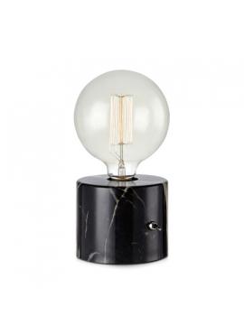 Lampa Biurkowa Round Black