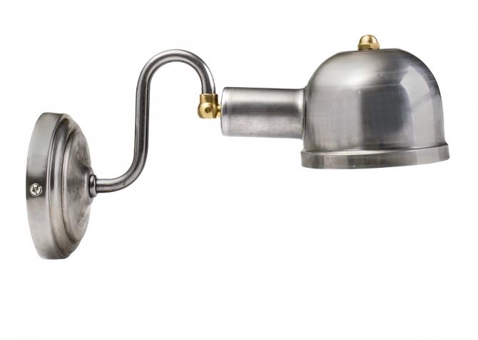 Wall Loft Lamp T60 Raw Steel