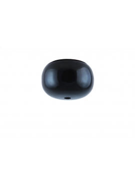 Glossy Black dome canopy