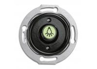 Glass bell button button THPG PT black