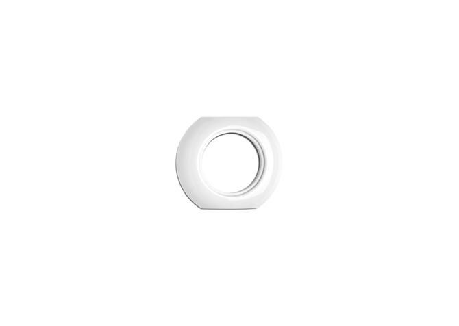Ceramic round frame middle THPG