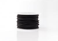 Kabel czarny metalizowany