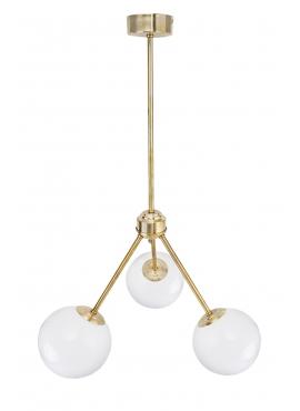 Lampa ByLight Trio B15 Stick Mosiądz
