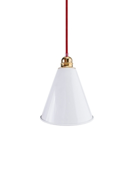 Lampa ByLight Trumpet Biała