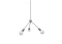 Grey Trio Hanging Lamp