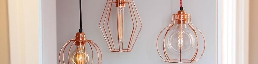 Lampy z klatką